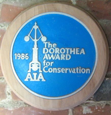 Dorothea Plaque awarded to Jack and Jill Windmills Society - photo by Simon Potter