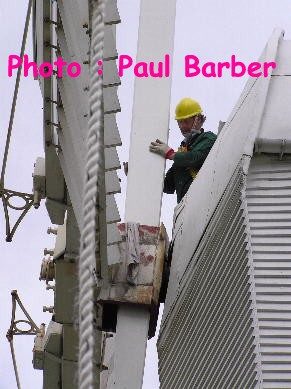 Fitting the new stock - Photo Paul Barber