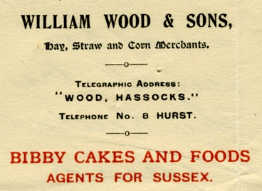 William Wood notepaper
